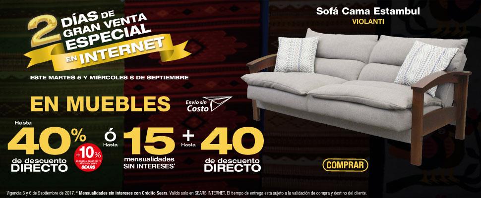 Sears Online – 2 días de Gran Venta Especial en Internet / Hasta 40 ...