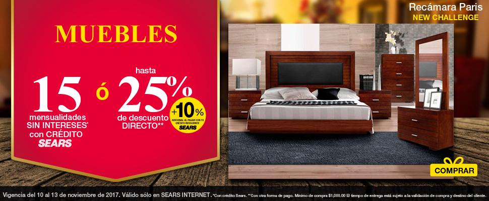 Sears – Hasta 15 MSI + Hasta 20% de descuento directo ó Hasta 30% + ...