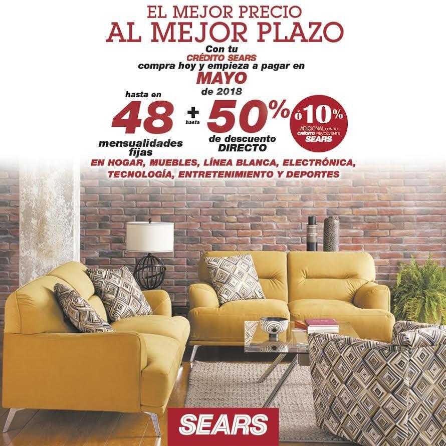 Sears – El Mejor Precio al Mejor Plazo / Hasta 48 MSI + Hasta 50% de ...