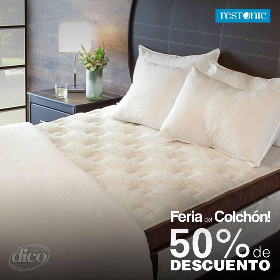 Muebles Dico Feria Del Colch N 50 De Descuento En Colchones  # Muebles Dico Coupon