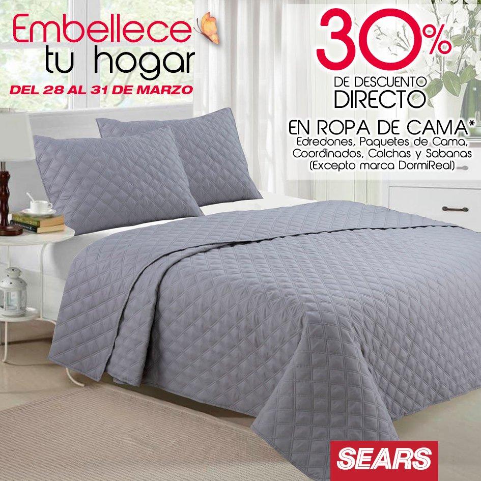 Sears – Embellece tu hogar / Ultimo día! 30% de descuento directo en ...