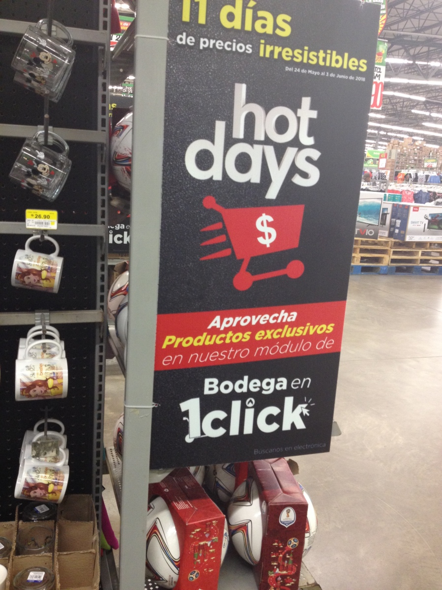 Bodega Aurrerá - Hot Days 2018 / Promociones, MSI y beneficios especiales del 24 de mayo al 3 de junio de 2018...